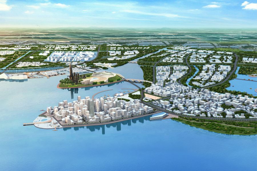 tangshan bay urban plan