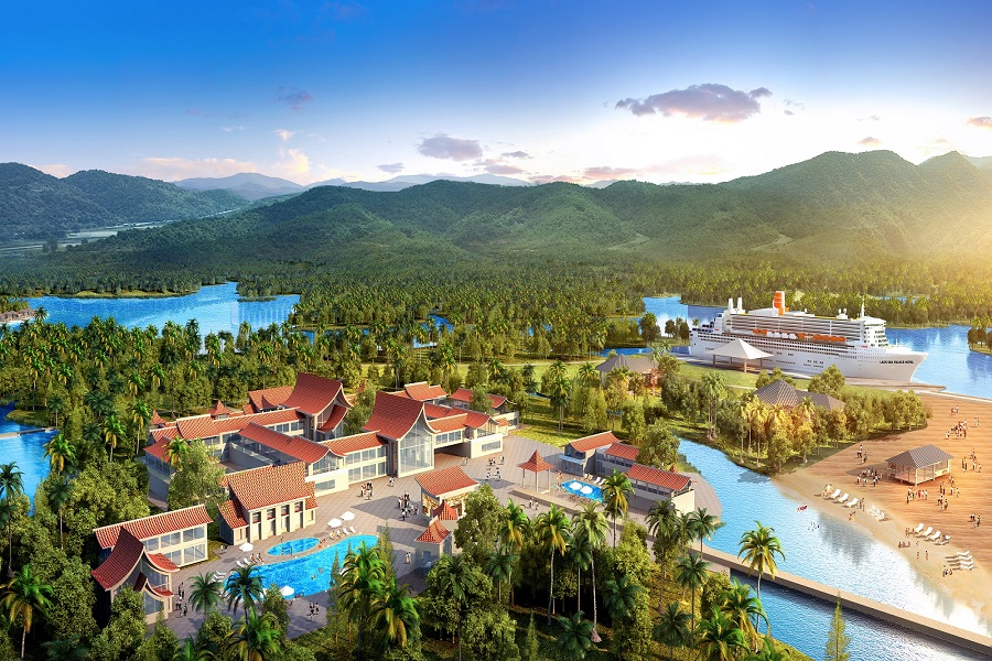 laos tianhu international tourism area