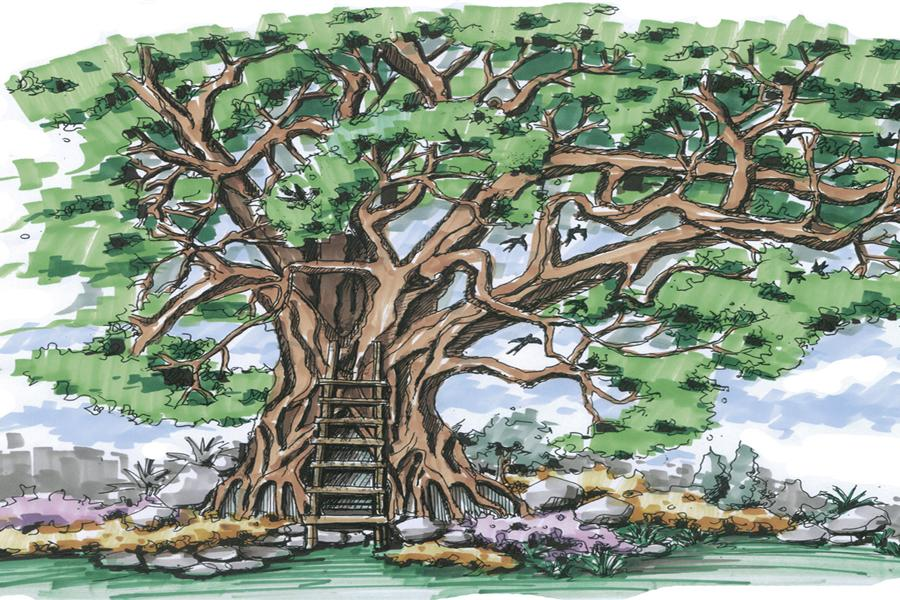 tree house qiliping